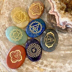 Chakra Stones - Set of 7 - NEW